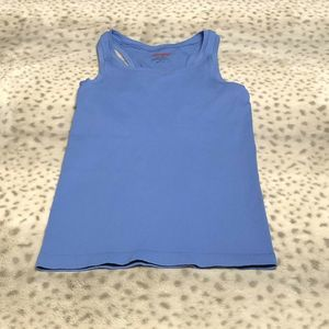 Spanx Tank Top Size S/M Fitted Sliming Shelf Bra